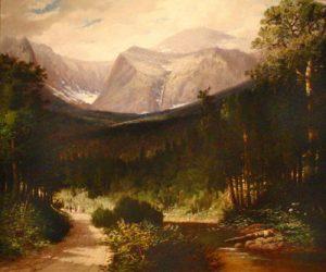 Tuckerman's Ravine and Lion's Head by Harrison Bird Brown
