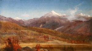 Mounts Jefferson and Adams from the Glen, Pinkham Notch by Harrison Bird Brown