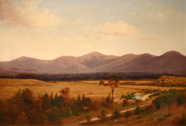 Presidential Range from the Mount Pleasant House, Crawford Notch by John Burgum