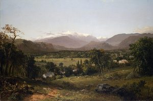 Mount Washington from the Valley of Conway by John Frederick Kensett