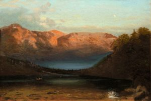 Echo Lake, Franconia Notch by John Henry Dolph