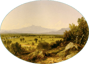 Mount Chocorua from North Conway by John Frederick Kensett