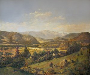 Mount Washington from Sunset Hill, North Conway by Captain Lorenzo Lüthÿ