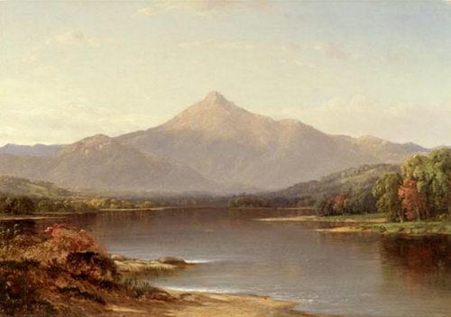 Mount Chocorua by Samuel Colman, Jr.
