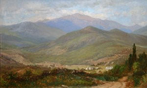Mount Washington and the Village of Jackson from Thorn Hill by Samuel Lancaster Gerry
