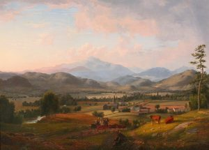 Mount Washington from Sunset Hill, North Conway by Samuel Lancaster Gerry