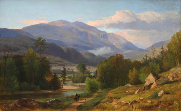 Mount Washington and the Ellis River from Jackson by Samuel Lancaster Gerry