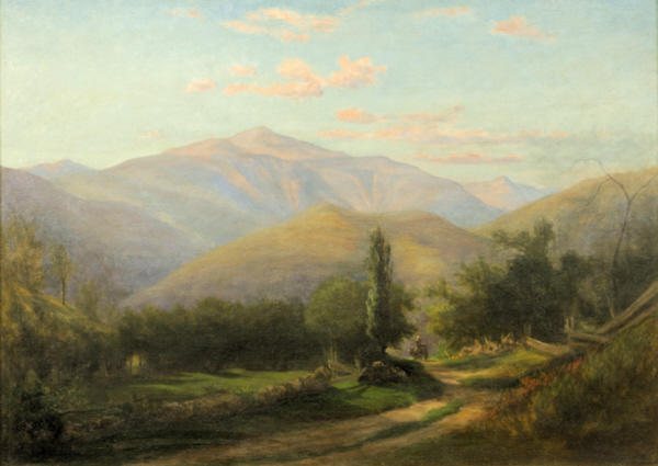 Mount Washington from Thorn Mountain, Jackson by Sylvester Phelps Hodgdon