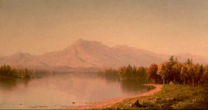 Home in the Wilderness (Moat Mountain from Conway) by Sanford Robinson Gifford
