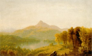 Mount Chocorua by Sanford Robinson Gifford