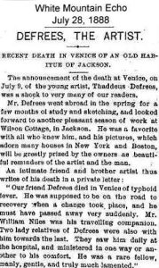 White Mountain Echo, July 28, 1888
