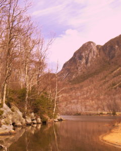 Eagle Cliff from Profile Lake