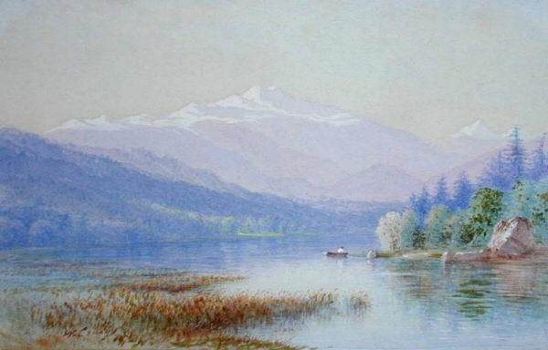Mount Washington from the Saco River by William C. Craig