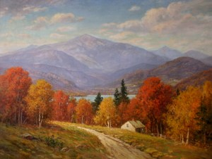 Mount Washington from Sunset Hill by William F. Paskell