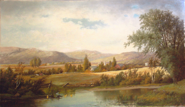Mount Washington from Sunset Hill, North Conway by William Henry Hilliard