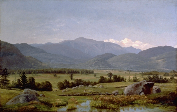Mount Washington from the North Conway Intervale by Alexander Helwig Wyant