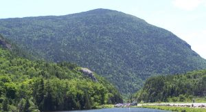 Crawford Notch and Elephant's Head Looking South through Crawford Notch
