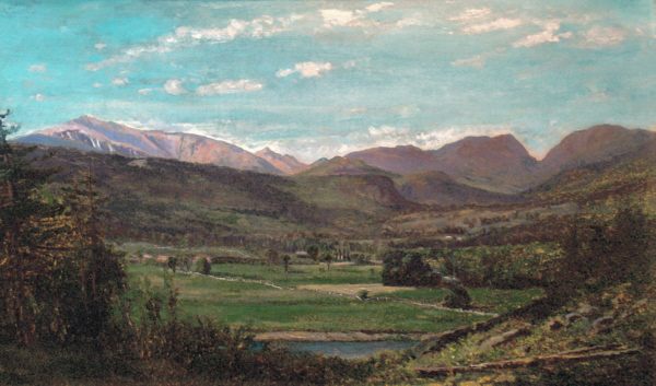Mount Washington and Carter Notch from Bartlett by Frank Henry Shapleigh