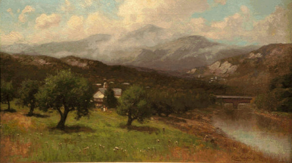 Mount Washington from Redstone by George Wellington Waters