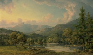Mount Chocorua from the Saco River by John White Allen Scott