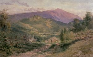 Mount Washington from Jackson by Peter Roos