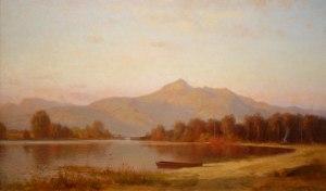 Mount Chocorua and Chocorua Lake by Alfred Wordsworth Thompson