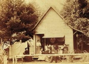 Sanderson and Friends at Camp Llana, Lake Dunmore, VT