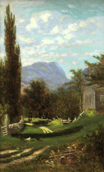 Carter Notch from Jackson by Frank Henry Shapleigh