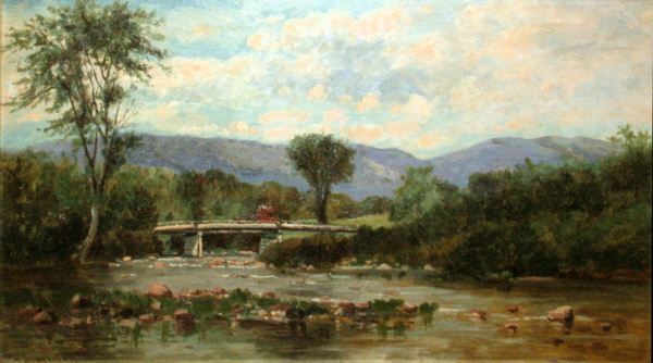 On the Ellis River, Jackson by Frank Henry Shapleigh