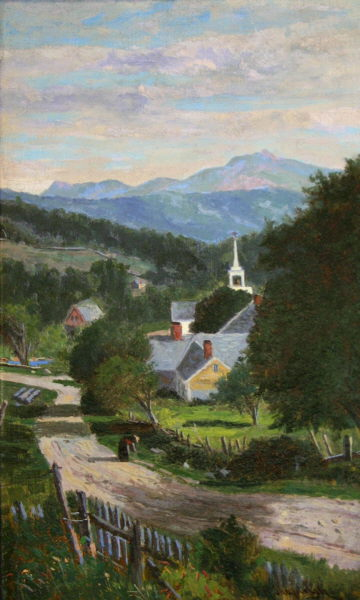 Moat Mountain from Jackson by Frank Henry Shapleigh