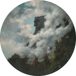 Old Man of the Mountain by Frank Henry Shapleigh