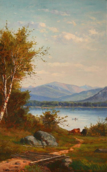Mount Washington and Walker's Pond by Frank Henry Shapleigh