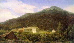Mount Washington from the Back of the Glen House Looking across Pinkham Notch by Ferdinand Richardt