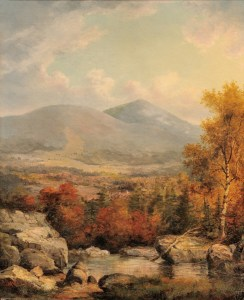 Mount Kearsarge from Diana's Baths by John White Allen Scott