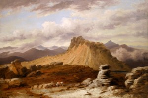 Mount Franklin from the Crawford Path by Russell Smith