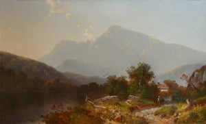 Mount Moriah and the Androscoggin River by William Sheridan Young