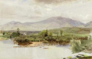 Mount Garfield and Mount Lafayette from Franconia by William Trost Richards