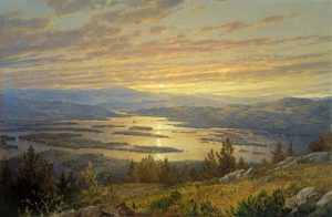 Squam Lake from Red Hill by William Trost Richards