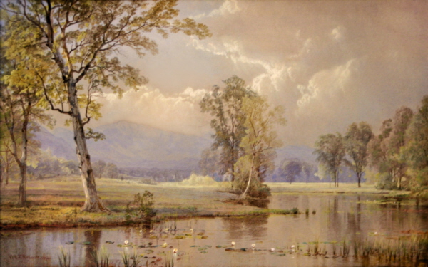 Mount Washington from the North Conway Intervale by William Trost Richards