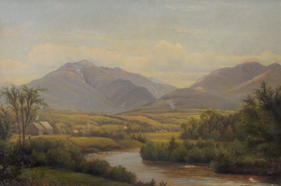 Mount Lafayette and Franconia Notch from the Gale River, Franconia by Sylvester Phelps Hodgdon