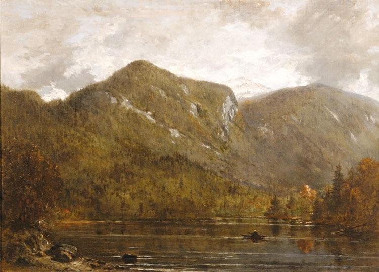 Eagle Cliff from Echo Lake, Franconia Notch by Winckworth Allan Gay
