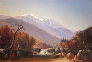 Mount Washington from the Ellis River, Jackson by Benjamin Champney