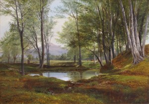 Mount Kearsarge from Artist's Brook by Benjamin Champney
