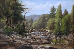 Wildcat River above Jackson Falls by Clinton Ogilvie