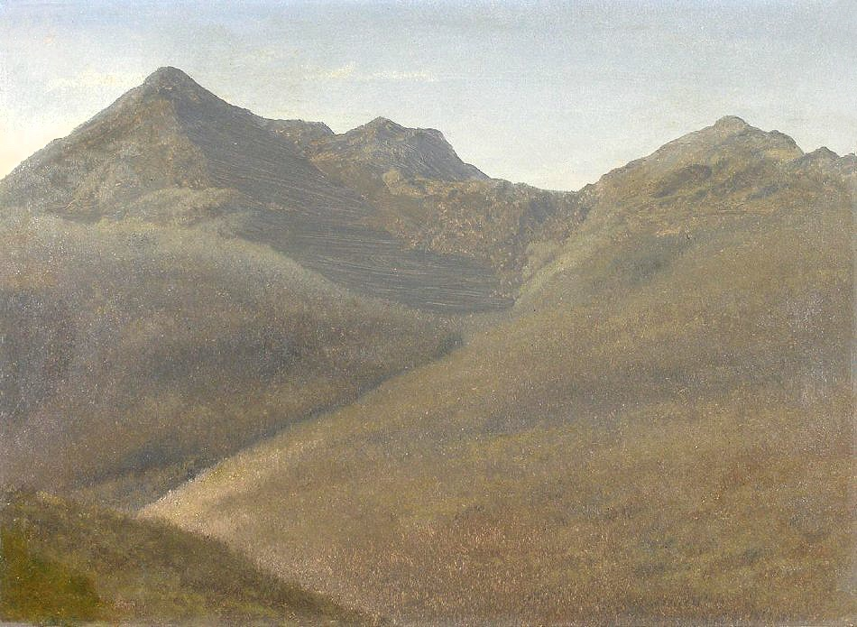 Mount Adams from Pinkham Notch by Albert Bierstadt