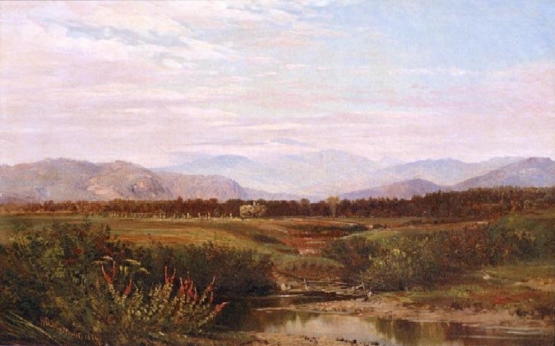 Mount Washington from the Intervale by Aaron Draper Shattuck