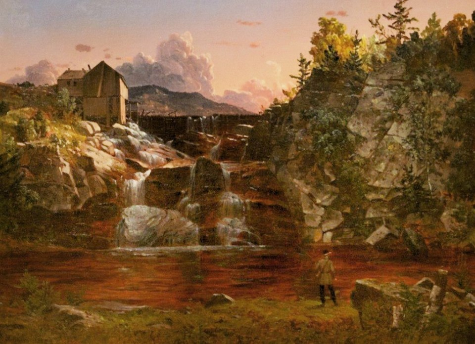 Goodrich Falls, Jackson NH by David Johnson