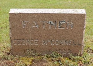 George McConnell Gravestone, Black Point Cemetary, Scarborough, ME