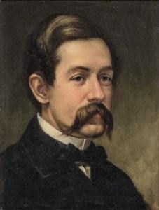 Self-portrait of David Johnson