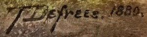 TDefrees. 1880.